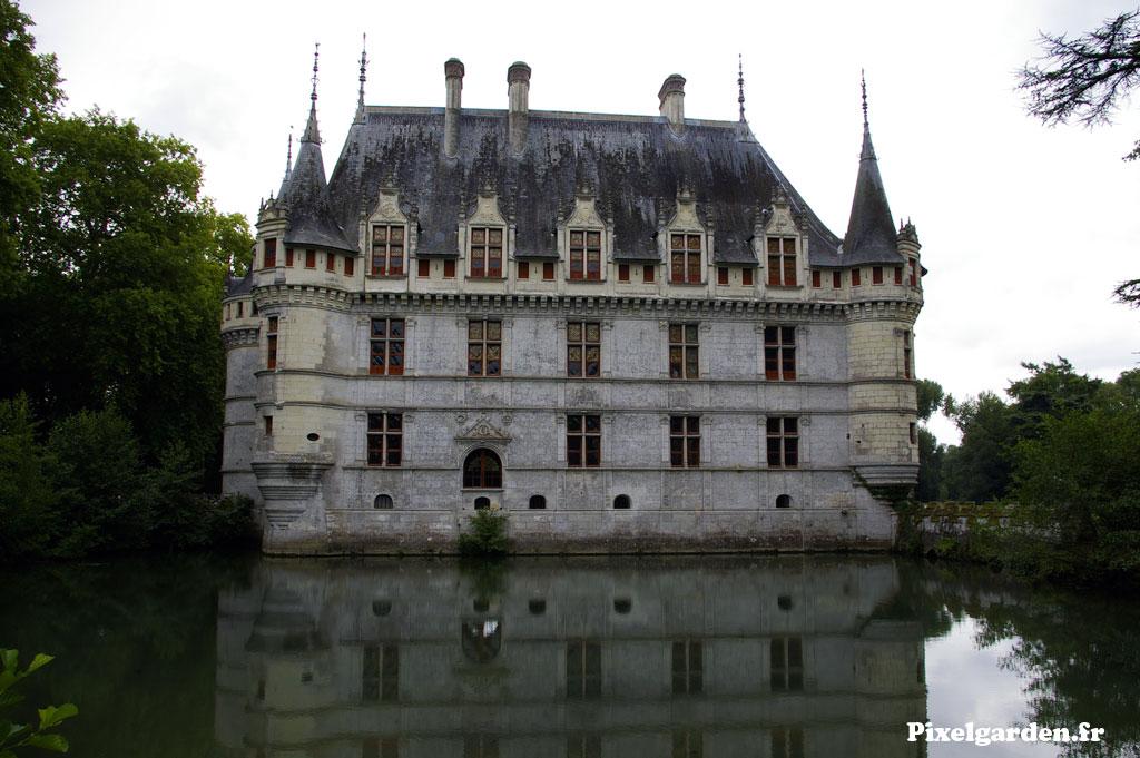 Vue d'ensemble du chateau de Chinon