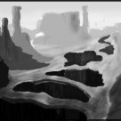 W.I.P Sketch Canyon