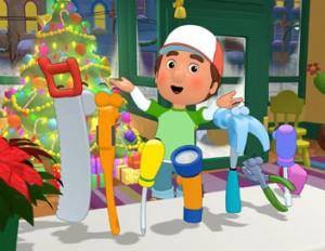 Manny et les outils